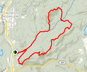Fahnestock Trail Map