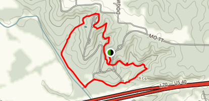 Indian Glade Trail Map