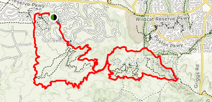 Highlands Ranch Trail [PRIVATE PROPERTY] Map