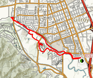 Gavilan Trail Map