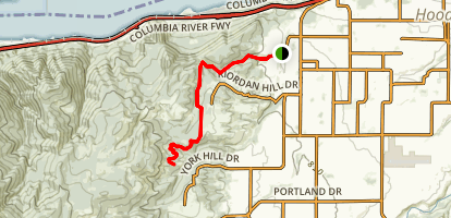 Post Canyon Seven Streams Trail Map