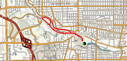 Hoyt Park Trail Map