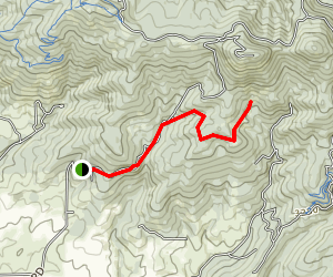 Moscow Mountain Majesty Trail Map