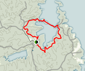 Honker Lake Trail Map