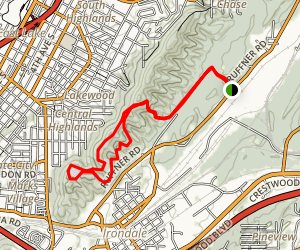 Ruffner Mountain Trail Map