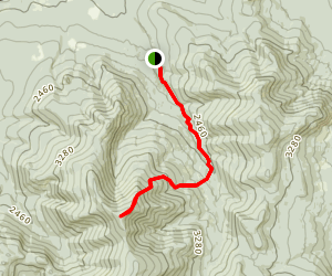 North Twin Trail Map