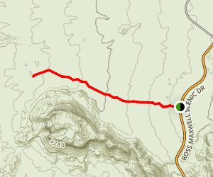 Chimneys Trail Map