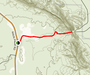 Dog Canyon Trail Map