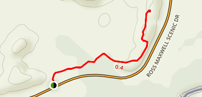 Dorgan Sublett Trail Map