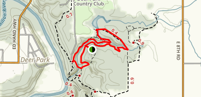 Dells Canyon and Bluff Trail Map