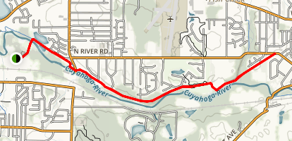 Munroe Falls Bike and Hike Trail Map