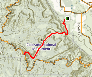 Ute Canyon Trail Map