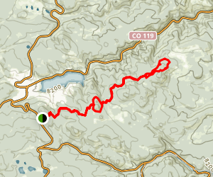 Blue Dot Trail Map