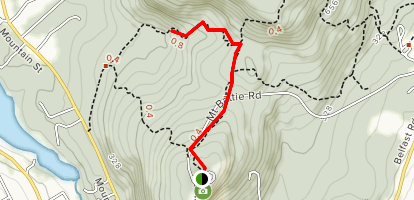 Tablelands Trail Map