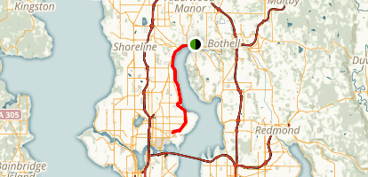 Lake Washington Trail Map