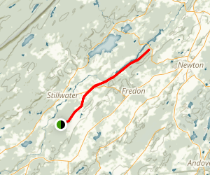 Paulinskill Valley Rail Trail (East and West) Map