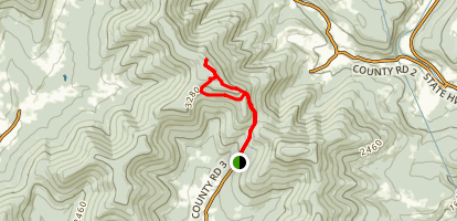 Bearpen Mountain Trail Map