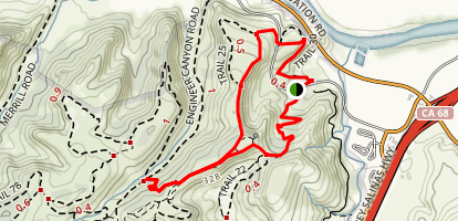 Fort Ord Public Lands Trail Map