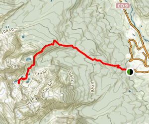 Willow Lakes Trail Map