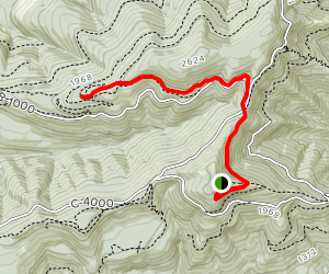 Capitol Peak Trail Map