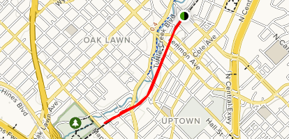 Map Of Texas Katy.Katy Trail Hi Line To Oak Lawn Texas Alltrails