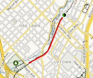 Turtle Creek Leisure Trail Map