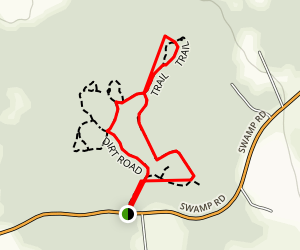 Little Compton and Wilbour Woods Trail Map