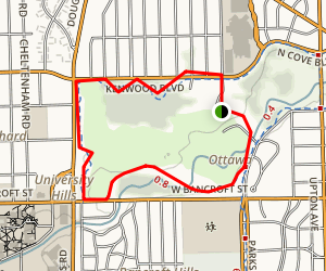 Ottawa Park Trail Map
