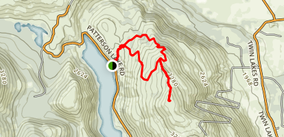 Patterson Mountain Trail Map