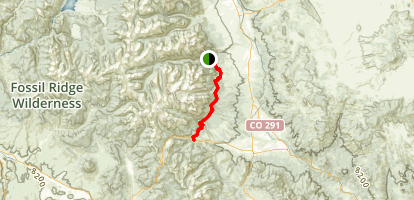 The Colorado Trail Map