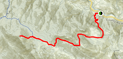 Crosier Mountain Trail Map