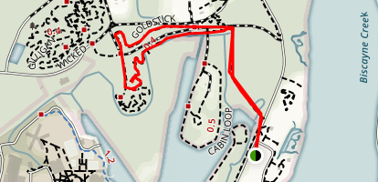 Oleta River State Park Trail Map