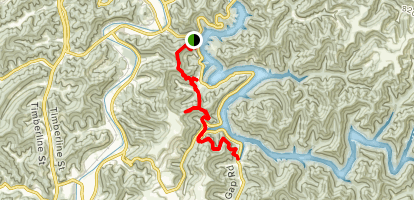 Jenny Wiley Trail Map