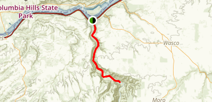 Deschutes River Trail Map