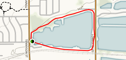 Jim Baker Reservior Trail Map
