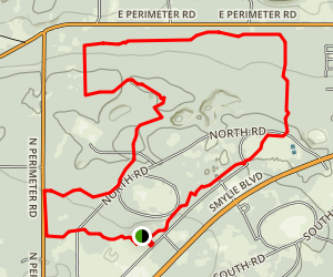 Northside Loop Trail Map