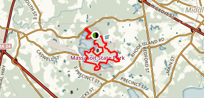 Massasoit Trails Map