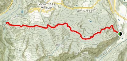 Government Trail Map