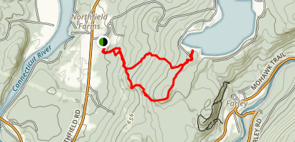 Northfield Mountain Trail Map