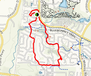 Shady Brook Trail Map