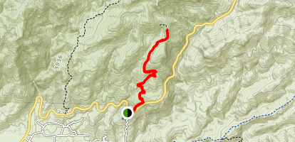Babat Duag Trail Map