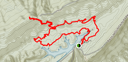 Fire Tower Trail Loop Map