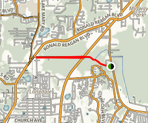 Soldier's Creek and Seminole Trail Map