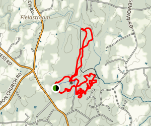 Little River MTB Trail Map