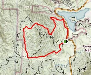 Middle Peak Loop Trail Map