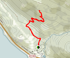 McHugh Peak Trail Map