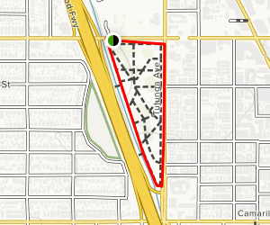 NoHo Arts District Trail Map