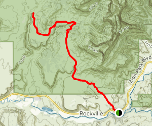Chinle Trail Map