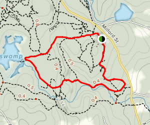 Sessions Woods Wildlife Management Area Trail Map