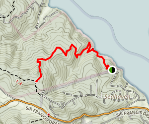 Shell Beach Trail Map